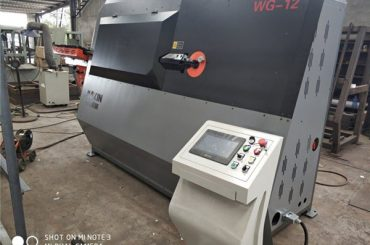 tehasehind topeltjuhtmega automaatne käetugi paindemasinaga