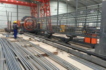 parima hinnaga keevitatud traatvõrgutrull masin, tugevdamine puur seam keevitaja diameeter 500-2000mm