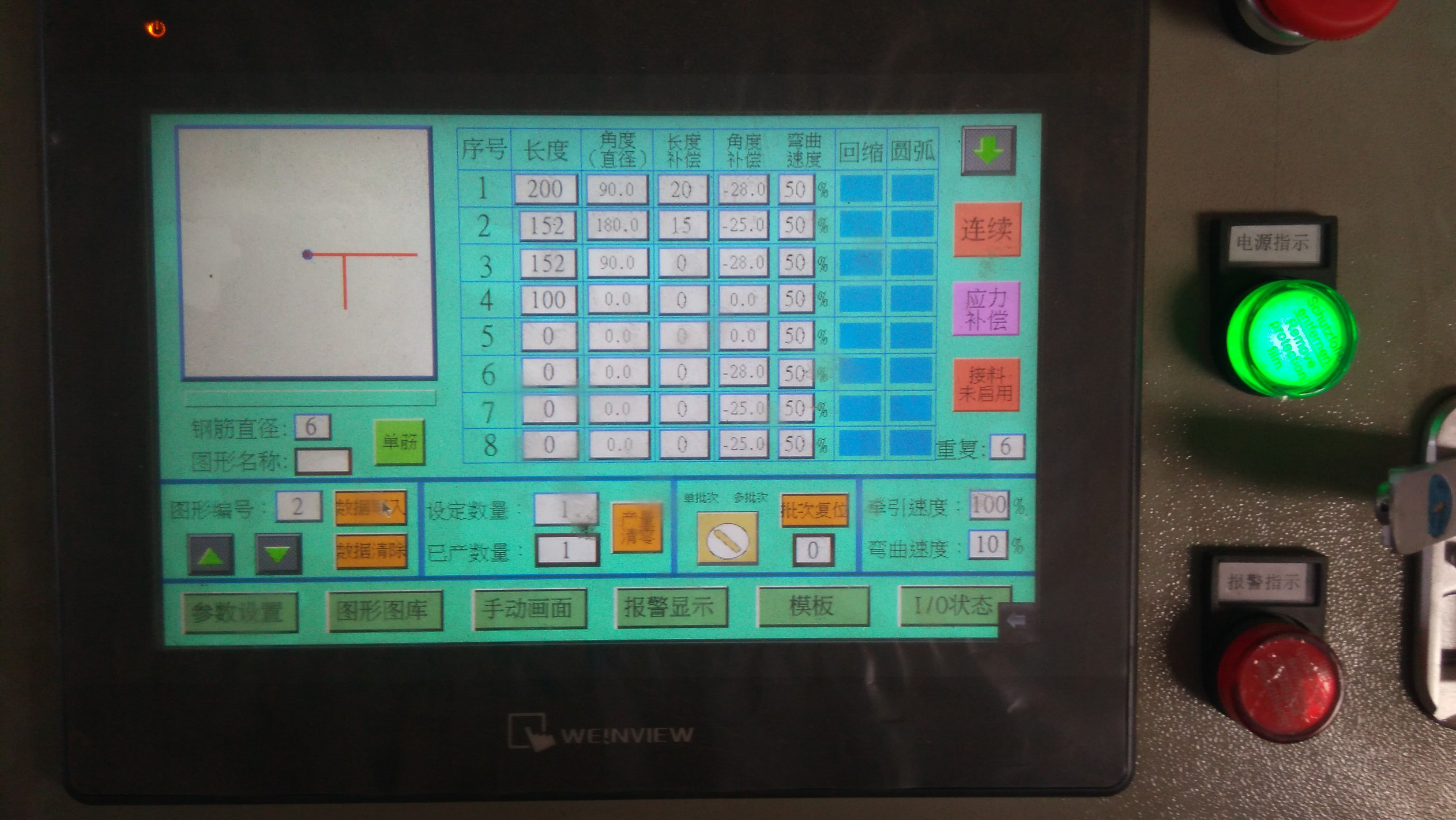 CNC traat painutusmasin